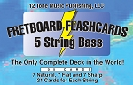 Bass 5 String Fretboard Flashcards