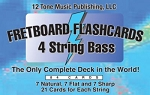 Bass 4 String Fretboard Flashcards