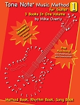 Tone Note® Music Method for Guitar Volume 1
