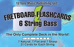 Bass 6 String Fretboard Flashcards